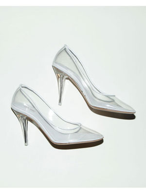 Cinderella Slippers: Marc Jacobs